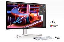 LG ra mắt màn hình máy tính 31,5 inch: 4K UHD, 1.07 tỷ màu, loa 5W