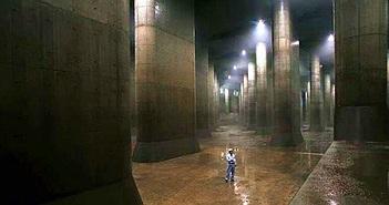 """Tokyo đẩy nước xuống """"Điện Pantheon dưới đất"""", hồ lượn dưới sông"""