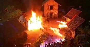 Video: Cháy phim trường khiến 31 diễn viên bị bỏng