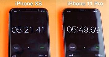 iPhone 11 Pro bị chính 'đàn em' iPhone Xs đánh bại khi đọ tốc độ