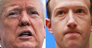 CEO Facebook gặp Tổng thống Mỹ Donald Trump