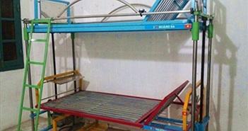 Sáng chế giường hai tầng cho bệnh viện