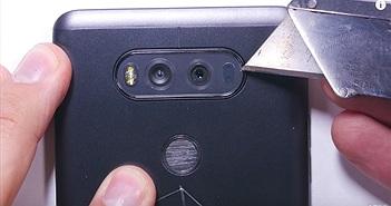 Bẻ cong và cào nát LG V20: Bạn có muốn thử cảm giác mạnh?