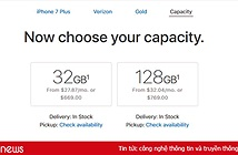 Tiếp sức iPhone 8, Apple ngừng sản xuất iPhone 7 256GB