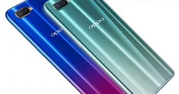 """Oppo R15x trình làng, màn hình giọt nước """"ăn đứt"""" iPhone Xs"""