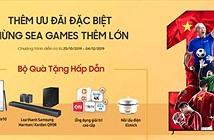 Cổ vũ SEA Games 2019: Samsung triển khai ưu đãi Thêm 0 Đồng đổi TV to