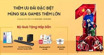 Cổ vũ SEA Games 2019: Samsung triển khai ưu đãi 'Thêm 0 Đồng đổi TV to'