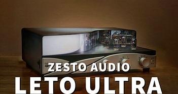 Zesto Audio Leto Ultra – Preamp đèn sửa được lỗi bản thu