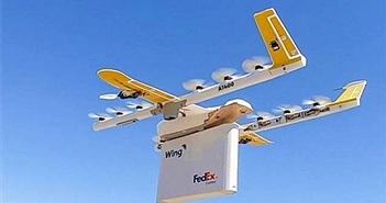 Google hoàn thành chuyến giao hàng đầu tiên bằng drone