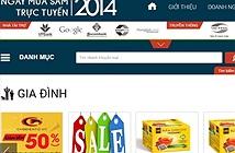 Ngày mua sắm trực tuyến 2014: Đã có 605 doanh nghiệp tham gia