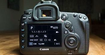 Máy ảnh Canon sẽ sớm có nút bấm phát sáng để dùng trong đêm