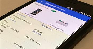 Google thiết kế lại giao diện tìm kiếm cho Black Friday