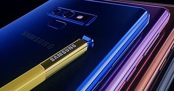 Galaxy Note 9 phiên bản chạy chip snapdragon gặp lỗi khóa cứng camera sau