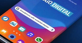 Đây chính là chiếc điện thoại màn hình thác nước siêu đẹp của Samsung?