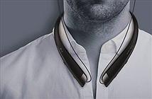 Tai nghe không dây LG, khung kim loại, nặng dưới 60 gram