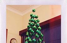 11 mẫu cây thông Noel tự làm đơn giản cho người bận rộn