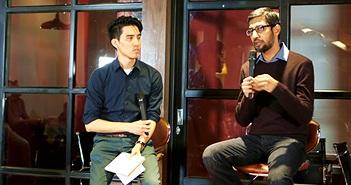 CEO Google ngồi trà đá với cha đẻ Flappy Bird