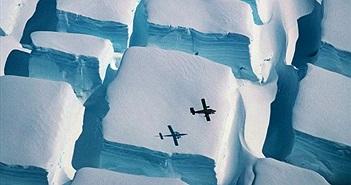 Kỳ quái những khối băng dạng rubik ở Nam Cực