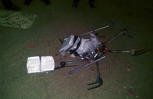 Dùng drone để vận chuyển... 3kg ma túy đá