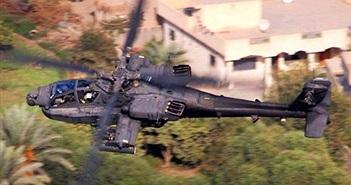 """Khoảnh khắc ấn tượng của """"sát thủ chống tăng"""" AH-64 Mỹ"""