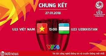 Chung kết U23 châu Á: Việt Nam - Uzbekistan. Kỳ tích có lặp lại?
