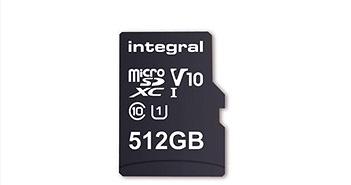 Đã có thẻ nhớ microSD 512GB đầu tiên trên thế giới
