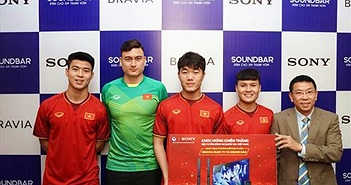 Cổ vũ tuyển Việt Nam tại Asiad Cup 2019, Sony tặng OLED TV 55A8F