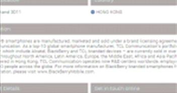 TCL sẽ sản xuất và bán máy tính bảng mang thương hiệu BlackBerry