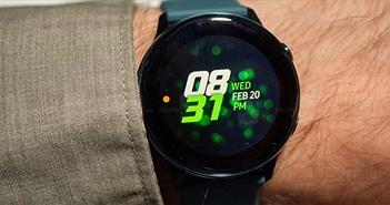 Đánh giá nhanh đồng hồ thông minh Galaxy Watch Active