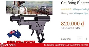 Công an vào cuộc vụ Lazada bán thiết bị lắp ráp súng
