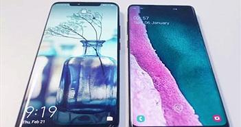 Đặt lên bàn cân: Samsung Galaxy S10+ và Huawei Mate 20 Pro