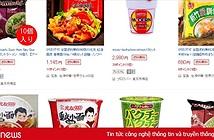 Mì ăn liền Việt âm thầm có mặt tại nhiều trang bán hàng online của nước ngoài với giá bán chắc chắn không hề rẻ