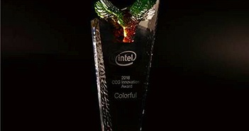 Colorful nhận giải thưởng sáng tạo từ Intel