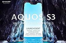 Sharp Aquos S3 ra mắt ngày 28/3 tại Việt Nam: smartphone 6 inch nhỏ nhất thế giới