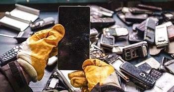 Chỉ dưới 2% smartphone tại Trung Quốc được tái chế