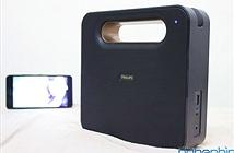 Mở hộp loa không dây Philips BT5580 có khả năng đàm thoại giá 3 triệu đồng