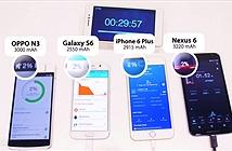 Oppo trổ tài sạc nhanh hơn cả iPhone 6 Plus, Galaxy S6 và Nexus 6