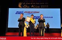 """VIETNAM MEDIA HUB -""""Hệ sinh thái dữ liệu số"""" của VTC đạt Top 10 Sao Khuê 2018"""