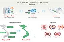 Độ an toàn của vắc xin ComBE Five thay thế Quinvaxem