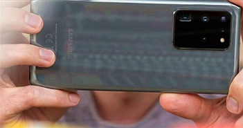 Bất ngờ về thứ hạng camera của Galaxy S20 Ultra