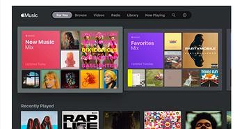 Samsung tích hợp Apple Music trên Smart TV