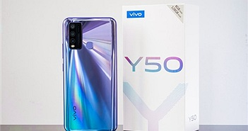 vivo Y50 màn hình nốt ruồi chính thức ra mắt cùng đại sứ Quang Hải