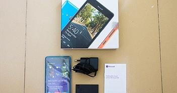 Ảnh thực tế Lumia 540 điện thoại selfie góc rộng giá 3,5 triệu đồng