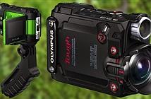 Olympus Stylus TG-Tracker: action-cam siêu bền, LCD gập 1,5, nhiều cảm biến, chống rung, 350 USD
