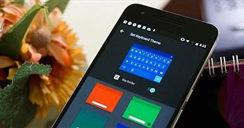 Tải về bàn phím có chức năng đổi theme của Android N cho các máy cũ, có tiếng Việt