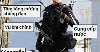 Đặc Nhiệm bảo vệ Tổng Thống Obama được trang bị công nghệ hiện đại như thế nào?