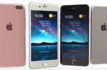 Bản dựng iPhone 7 Plus vàng hồng, camera kép