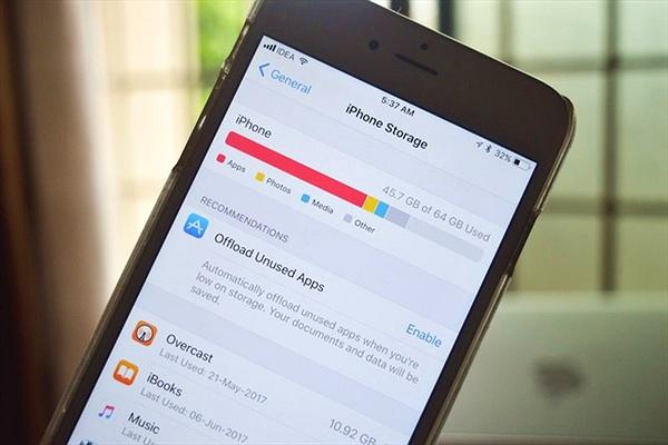 Làm gì khi iPhone đầy bộ nhớ?