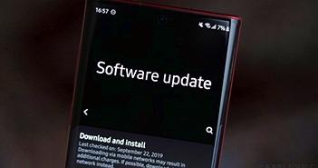 Danh sách smartphone Samsung được cập nhật Android 12