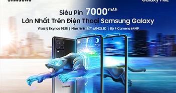 Samsung ra mắt Galaxy M62 siêu pin 7000mAh giá 10 triệu
